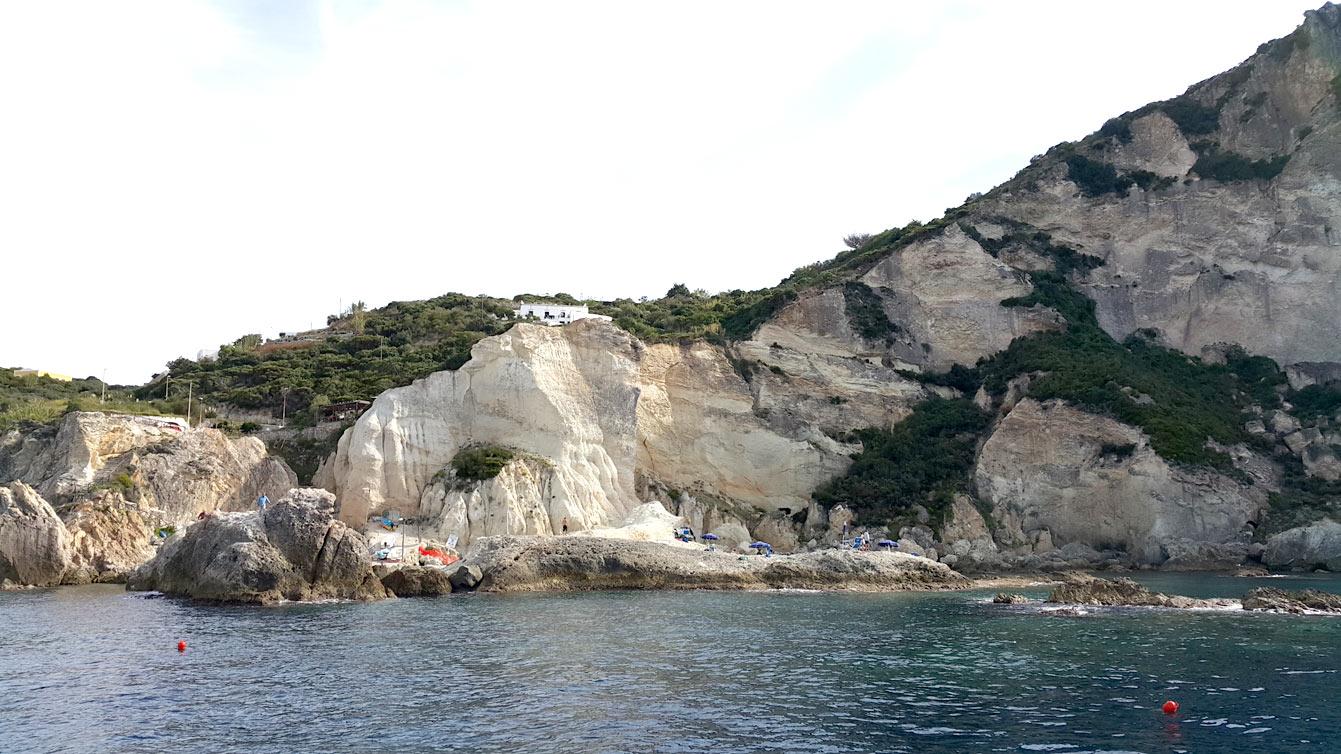 Piscine naturali à Ponza