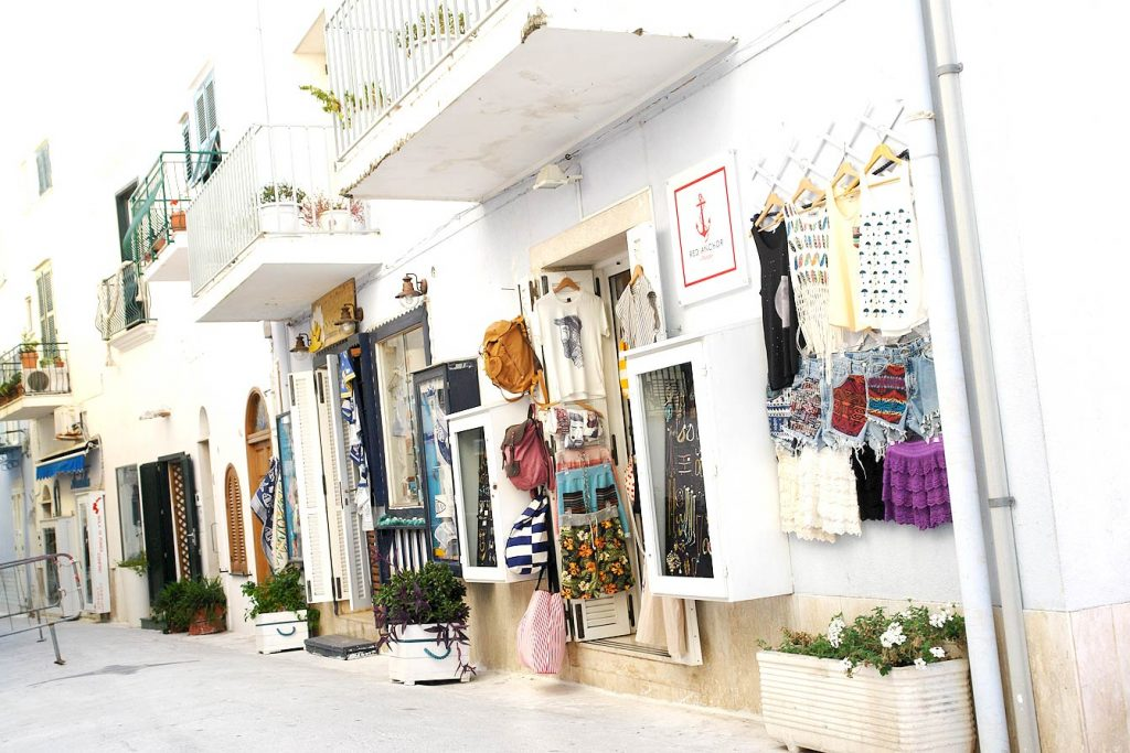 Boutiques à Ponza