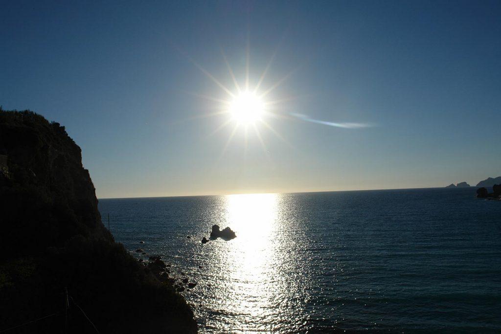 Coucher de soleil à Ponza