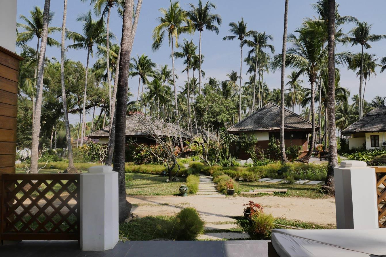 Hotel at the Rocks, Ngapali beach, Birmanie, Myanmar