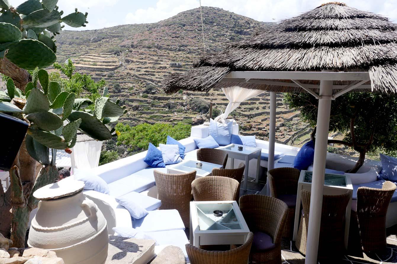 Dolci cafe, Kastro, Sifnos Grèce