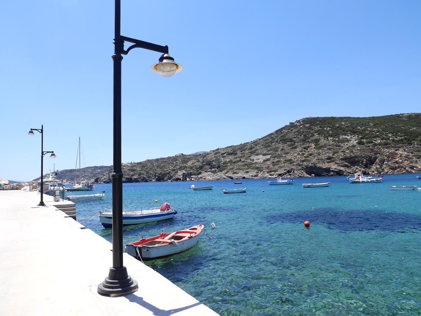 Le port de Faros
