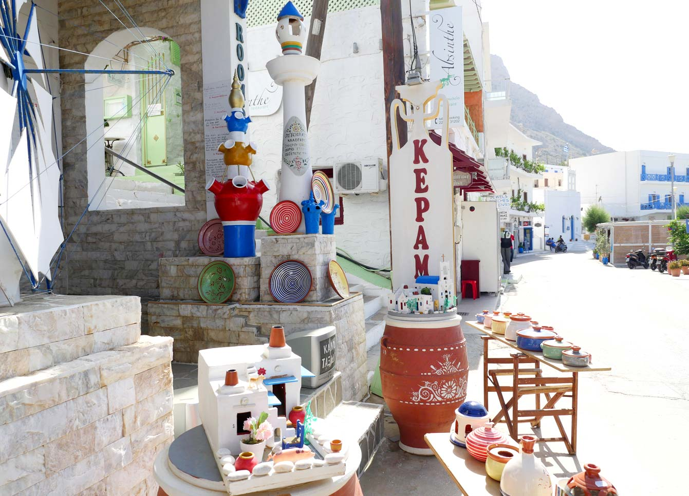 Village Kamares Sifnos, Grèce