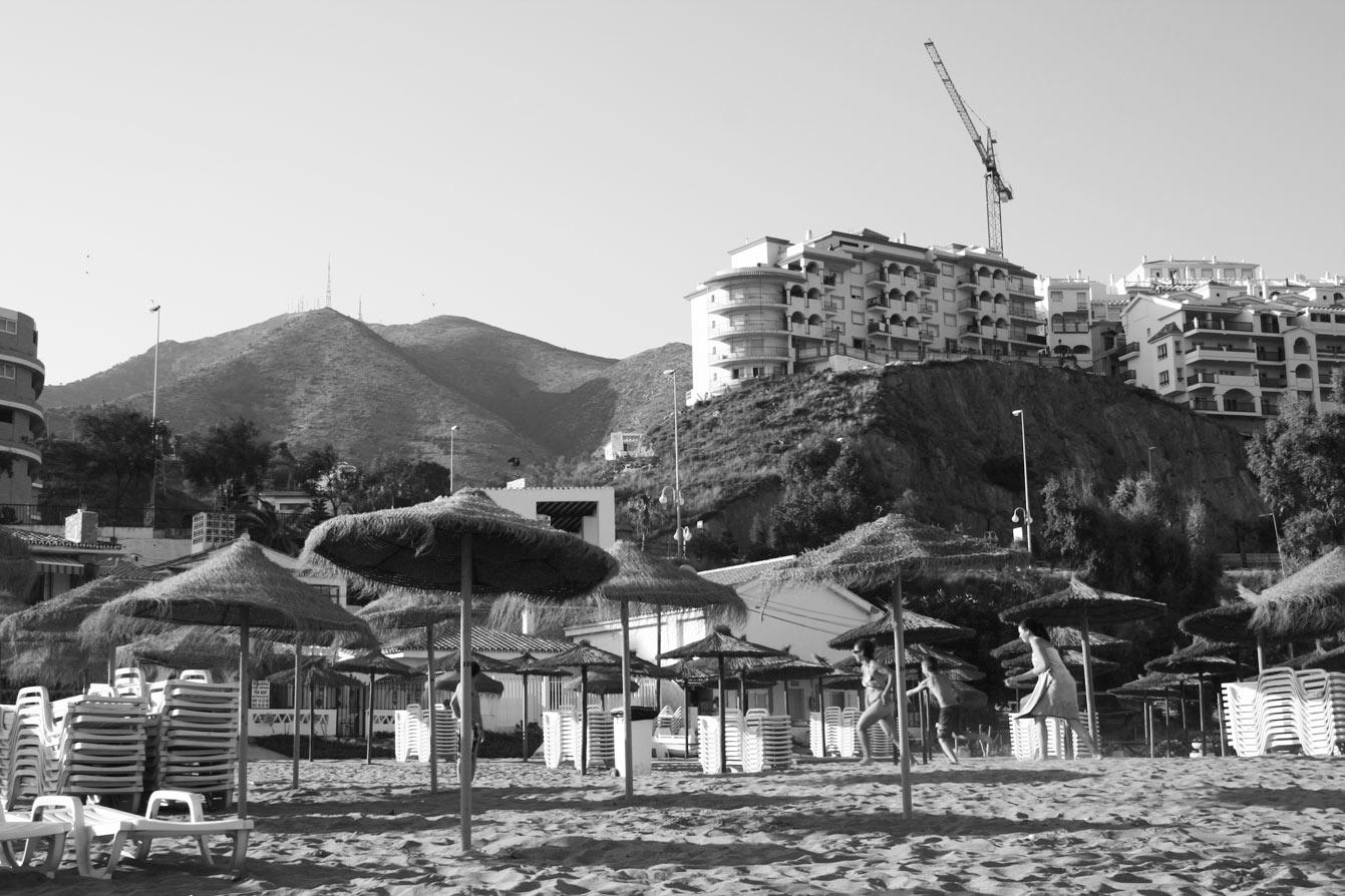 Playa Carvajal, Benalmádena, Espagne