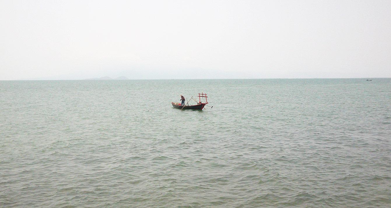 Kep beach, Cambodia