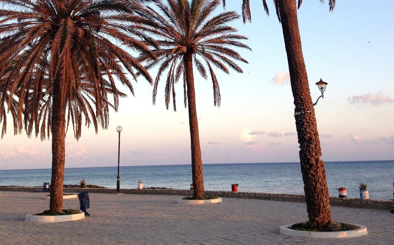 Nabeul, ville balnéaire, Tunisie