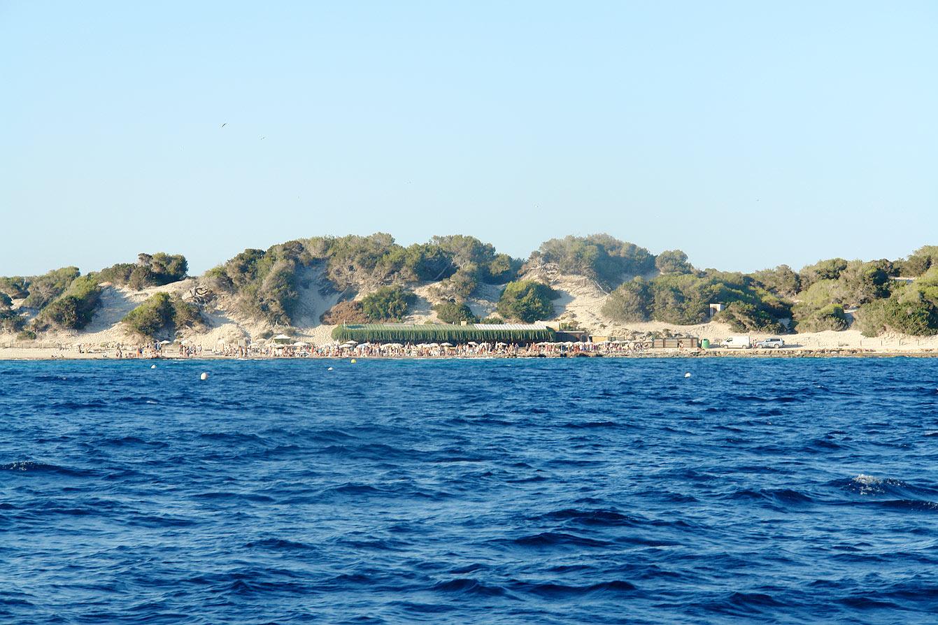 Départ en catamaran à Las Salinas