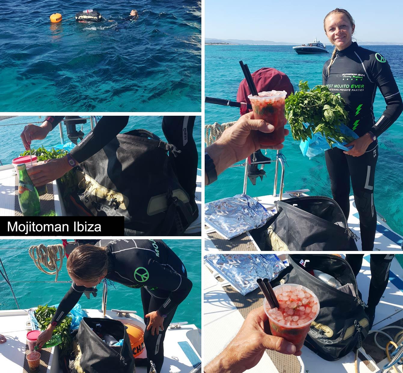 Tour de catamaran d'Ibiza à Formentera : mojitowoman