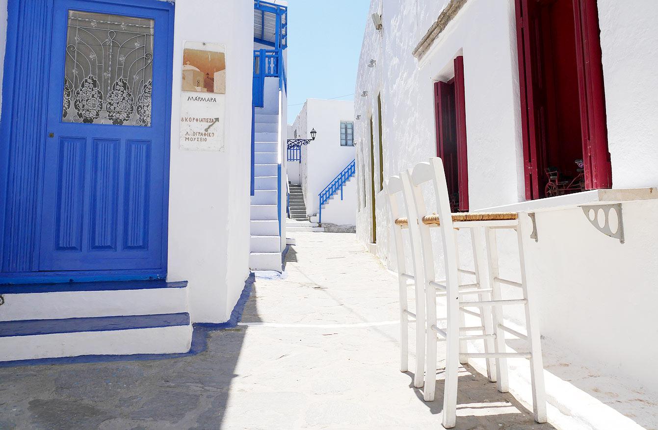 Village de Plaka, Milos