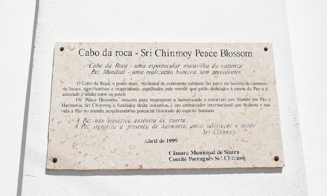 Sri Chinmoy Peace Blossoms, Cabo da Roca
