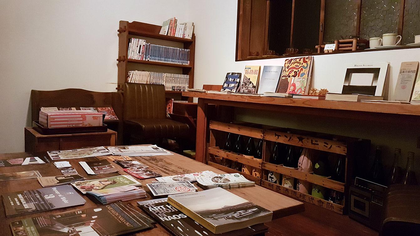 Cafe Salon Nakaoku, Naoshima