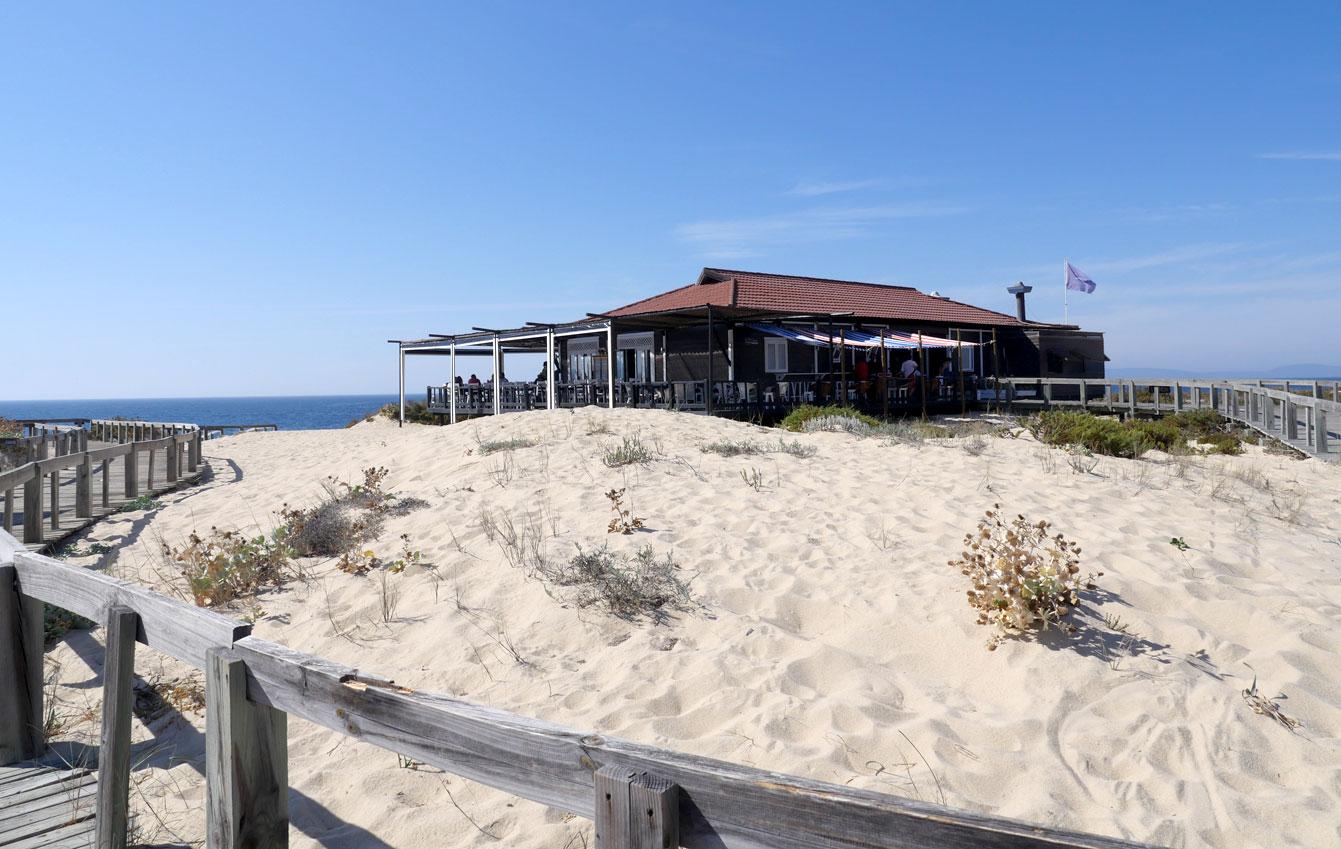Praia do Pego, restaurant Sal