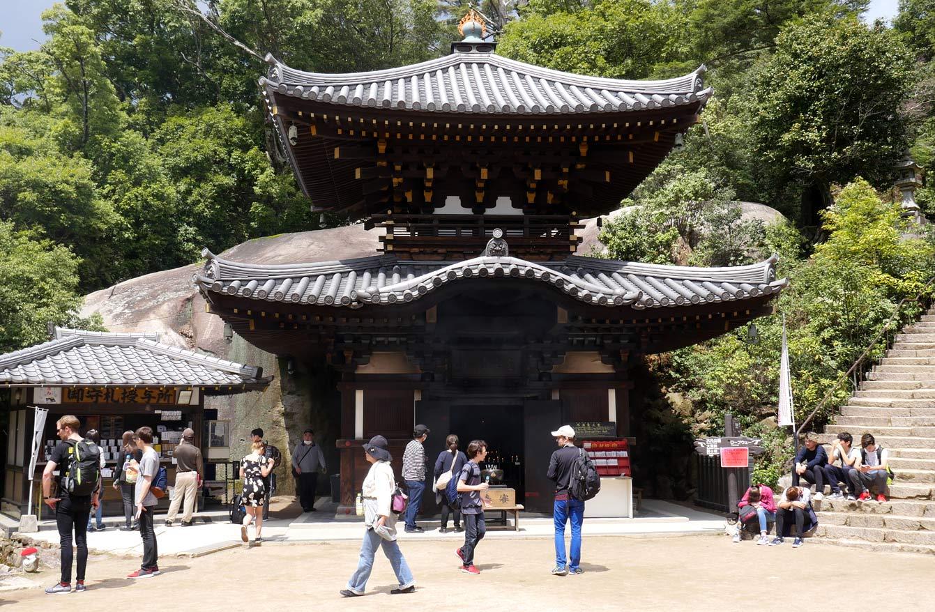 Misen Hondo, Mont Misen, Miyajima