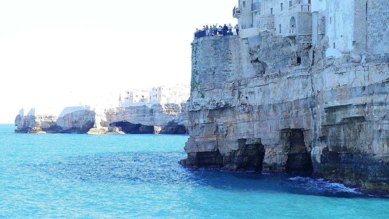Polignano a mare (Italie)
