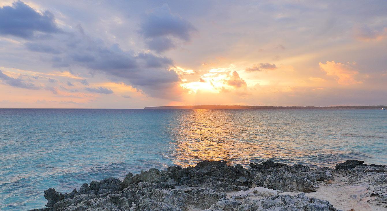 Coucher de soleil à Formentera
