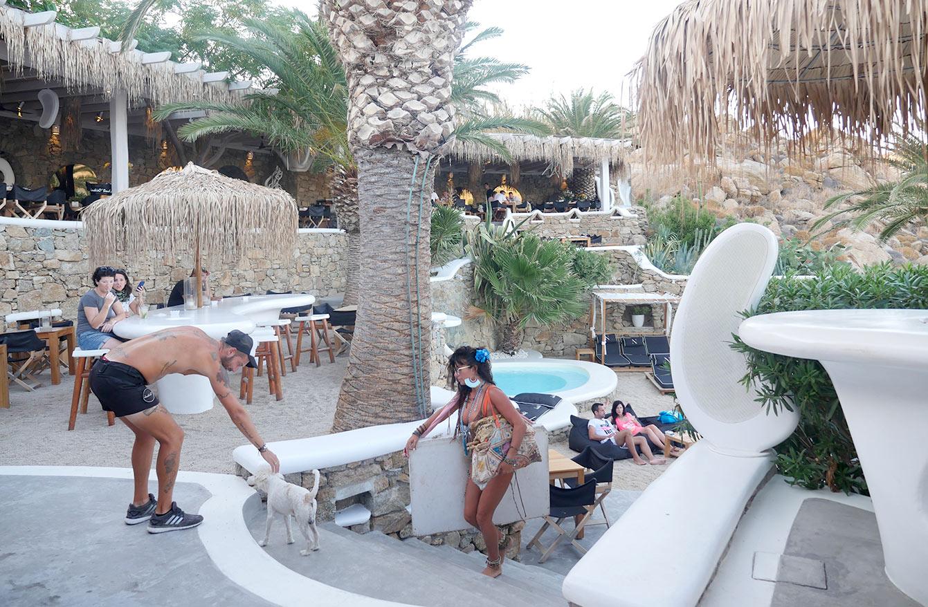 Le Jackie O Beach, Mykonos