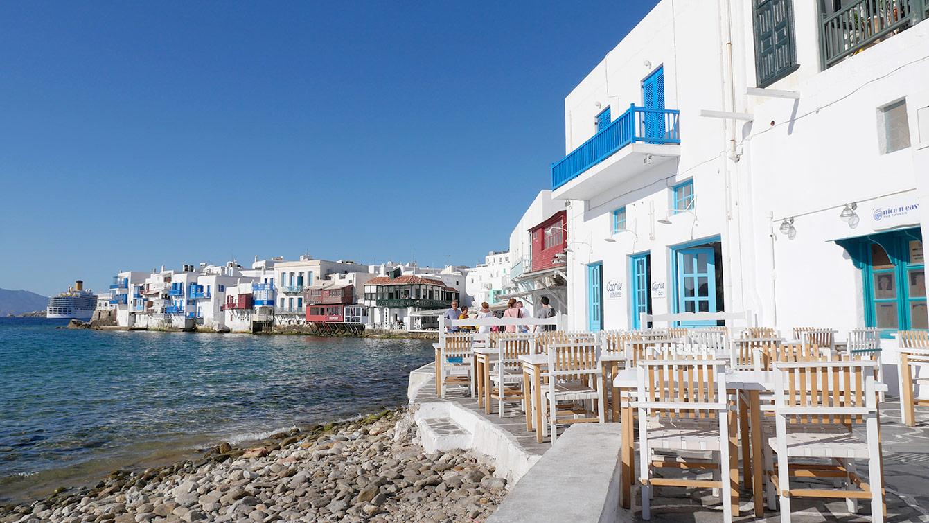 La Petite Venise à Mykonos