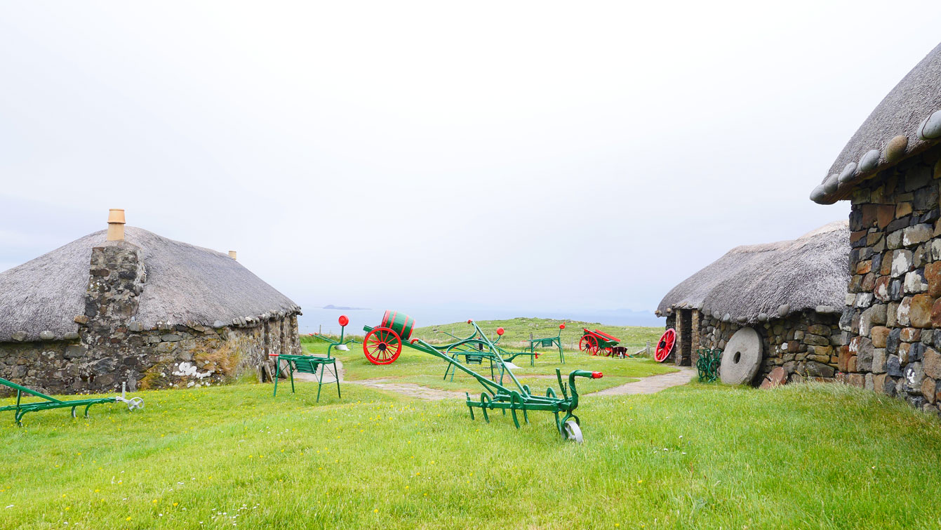 the skye museum of island life, Kilmuir