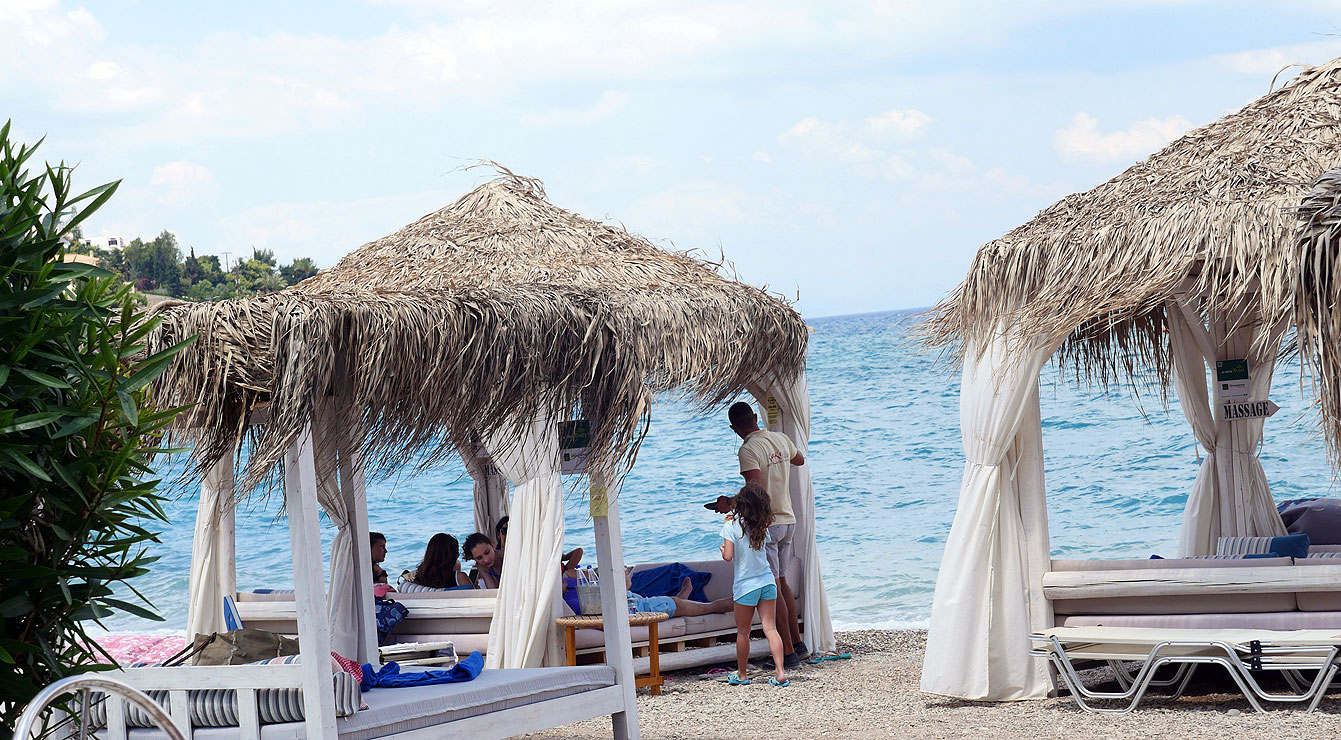 Kaiki beach, Spetses