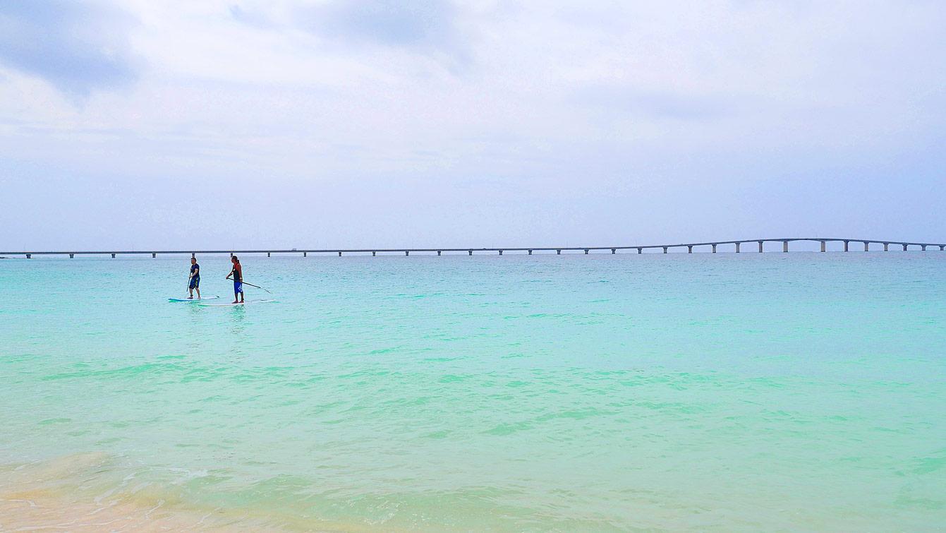 La plage de Yonaha Maehama (Miyakojima)