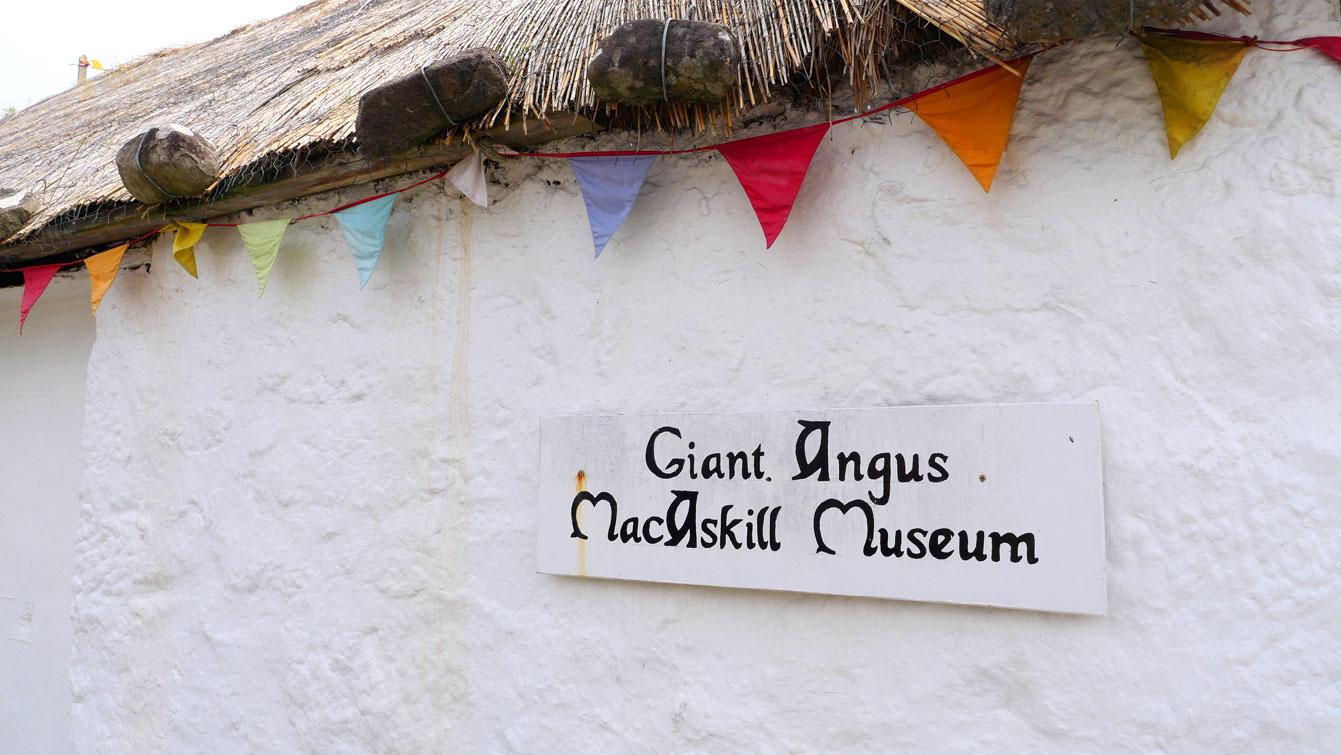Giant Angus MacAskill Museum à Dunvegan