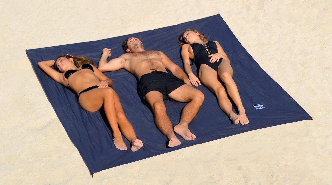 ÔBABA : le drap de plage XXL qui ne s'envole pas