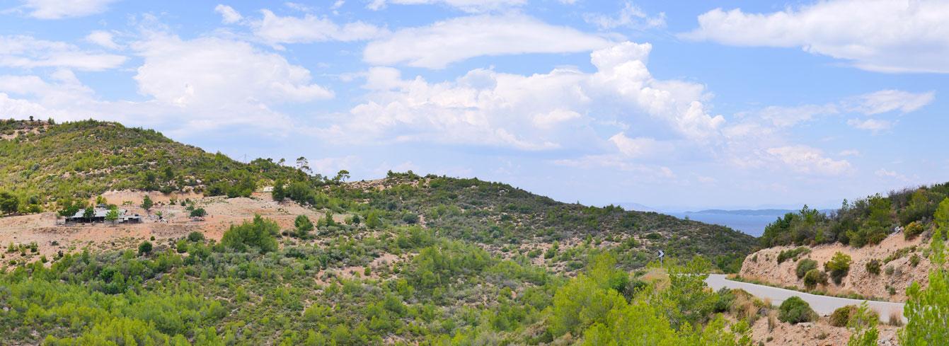 La baie de Zogaria, Spetses