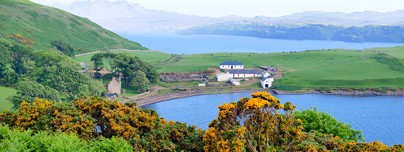 La magnifique péninsule Waternish (île de Skye)