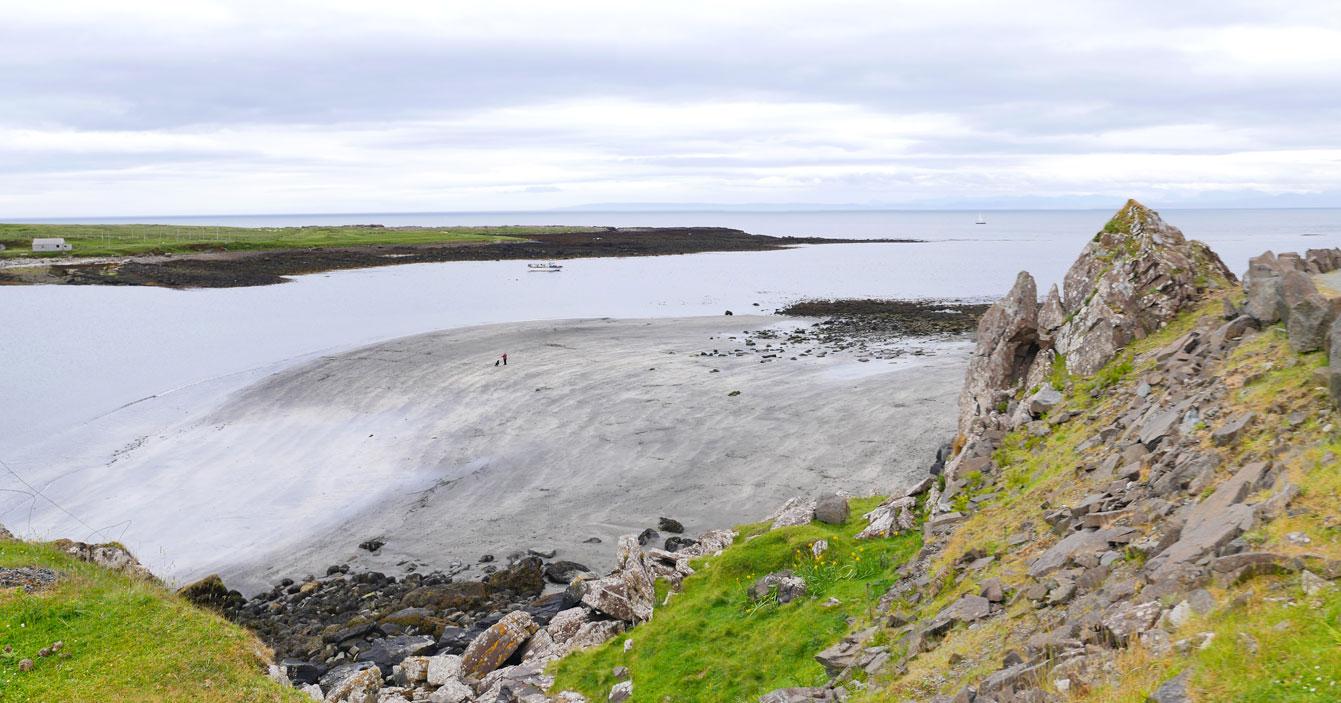 An Corran beach