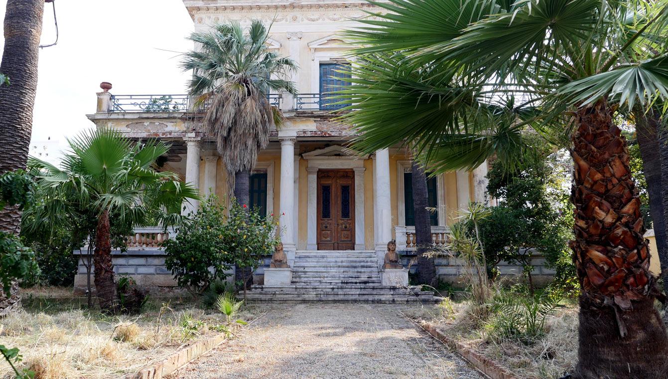 Le manoir d'Anargyros , Spetses