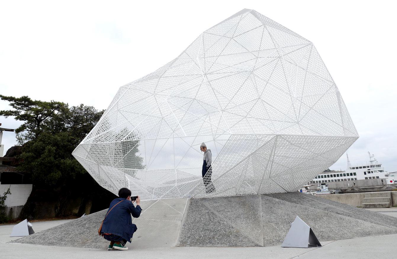 """""""Naoshima Pavillon"""", Sou Fujimoto, Naoshima"""