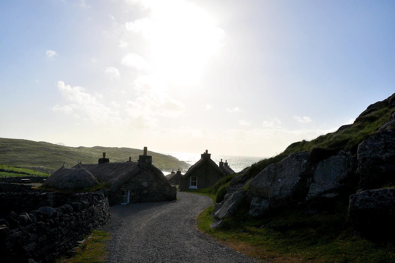 Gearrannan black house village (Île de Harris)