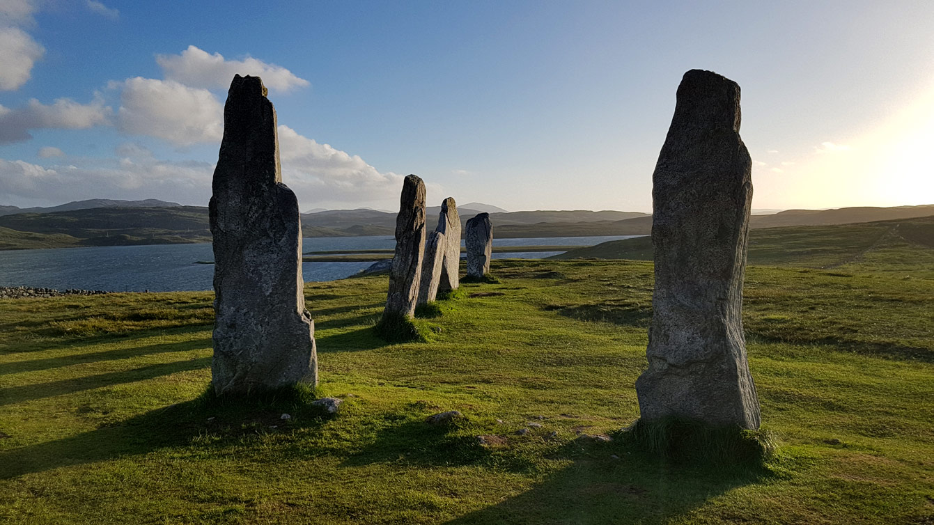 Les Calanais Standing Stones (Île de Lewis)