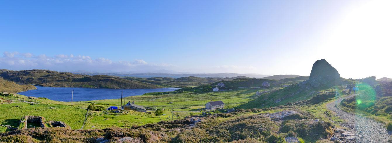 La tour Dun Carloway (île de Lewis)