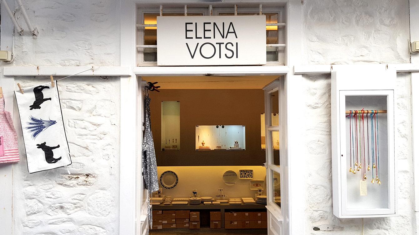 La boutique Elena Votsi (Hydra)