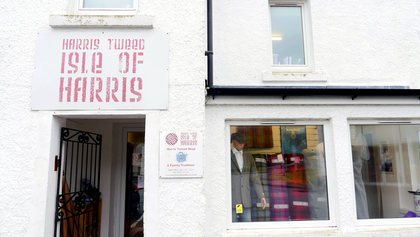 Harris Tweed Isle Of Harris Shop