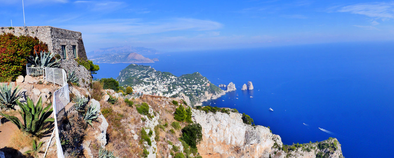 Le monte Solaro (Capri)