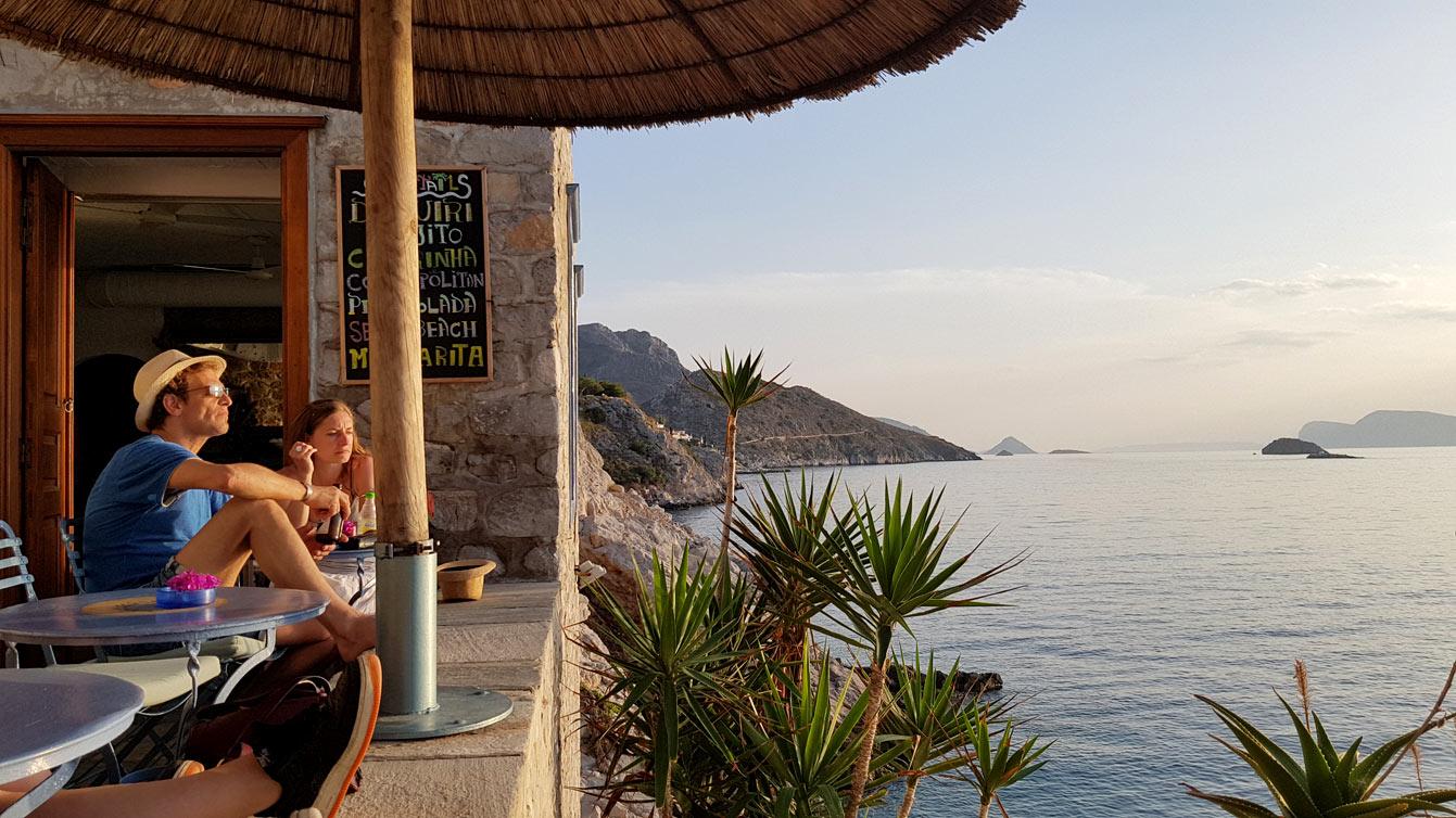 Couche de soleil Hydronetta Cocktail - Bar (Hydra)